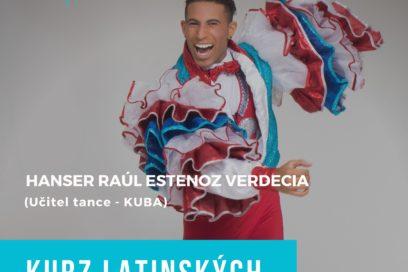 Kurz Latinských Tanců, Praha-Radotín od 14. 1. 2018