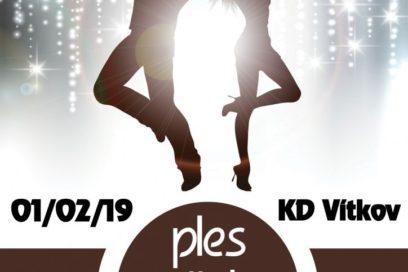 Tradiční ples města Vítkova 1.2.2019